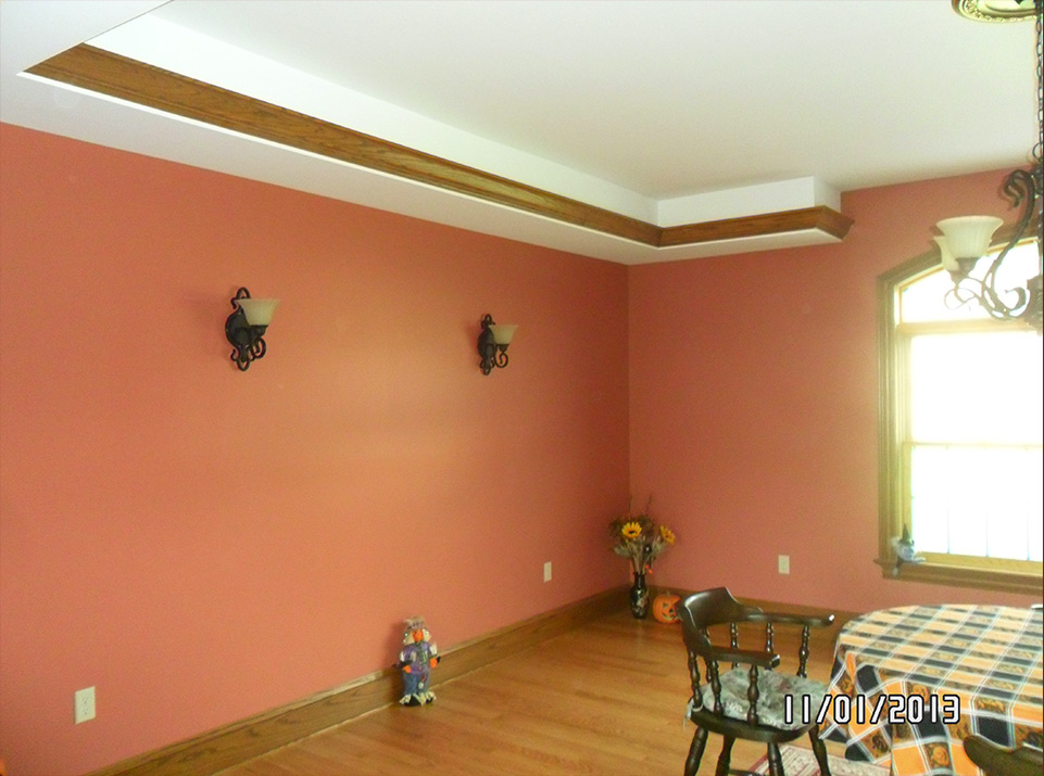 Dry Wall Job done by Peachey's Drywall and Painting