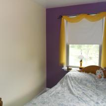 Accent color wall painting by Peachey's Drywall & Painting