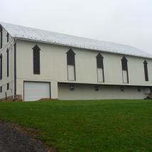 Barn Painted by Peachey's Drywall & Painting